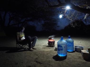 Ali Mwanza at our 6-person flycamp near Nariokotome