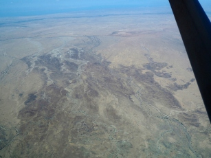 Echwa survey zone from the air