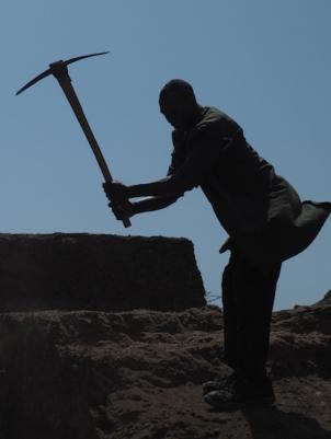 Heavy excavation work