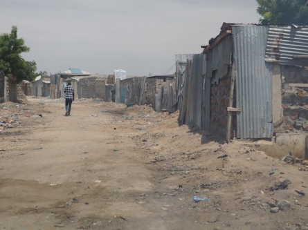 The backstreets of Lodwar