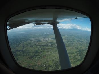 View from Air Turkana on the return to Nairobi