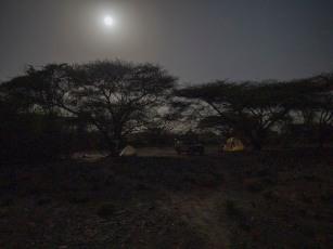 Nadung'a flycamp at night