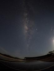 The night sky at the Turkana Basin Institute, Turkwel