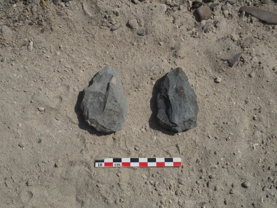 Acheulean stone tools found at Nadung'a